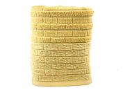 Полотенце махровое 50х90 Hobby DAISY 550 г/м2 желтый