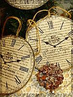 """Новогоднее украшение """"Часы"""""""