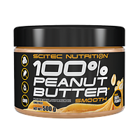 SciTec 100% Peanut Butter 500 g Smooth, фото 1