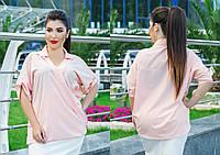 Блузка женская большие размеры (цвета) С178, фото 1
