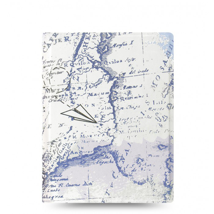 Блокнот Filofax Patterns Retro Map Средний А5 (16,3х21,4 см) (115049), фото 1