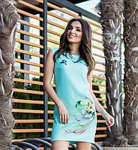 Ментоловое платье «Amanda» , фото 3