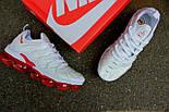 Кроссовки Nike Vapor Max TN Plus White Red. Топ качество! Живое фото (Реплика ААА+), фото 3