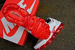 Кроссовки Nike Vapor Max TN Plus White Red. Топ качество! Живое фото (Реплика ААА+), фото 5