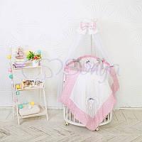 Комплект детского постельного белья Lucky star розовый, фото 1