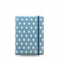 Блокнот Filofax Impressions Карманный Blue and White (10,5х14,4 см) (115043)