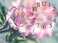 П-120. Схема для вишивки бісером «Часы чайная роза» (30x50) b04f3de2cea61
