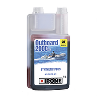Масло  IPONE OUTBOARD 2000 RS 1L для лодочных моторов
