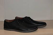 Туфли черные мужские 46,47 р великаны арт 8250-2.