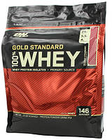 Optimum Nutrition Gold Standard 100% Whey Protein 4540 g (Ванильное мороженое)