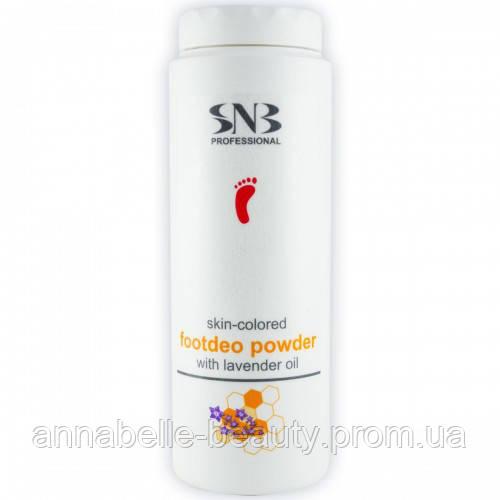 Дезодорирующая пудра для ног с прополисом и маслом лаванды SNB Professional 100 мл