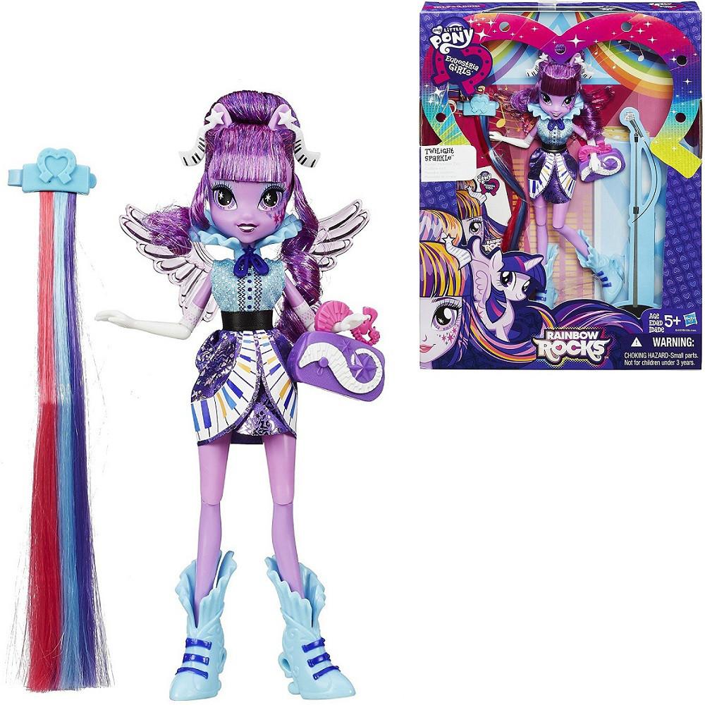 """Кукла """"My Little Pony"""" Twilight Sparkle Rockin' Hairstyle"""