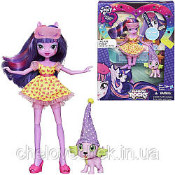 "Кукла ""My Little Pony"" Twilight Sparkle and Spike the Puppy Set"