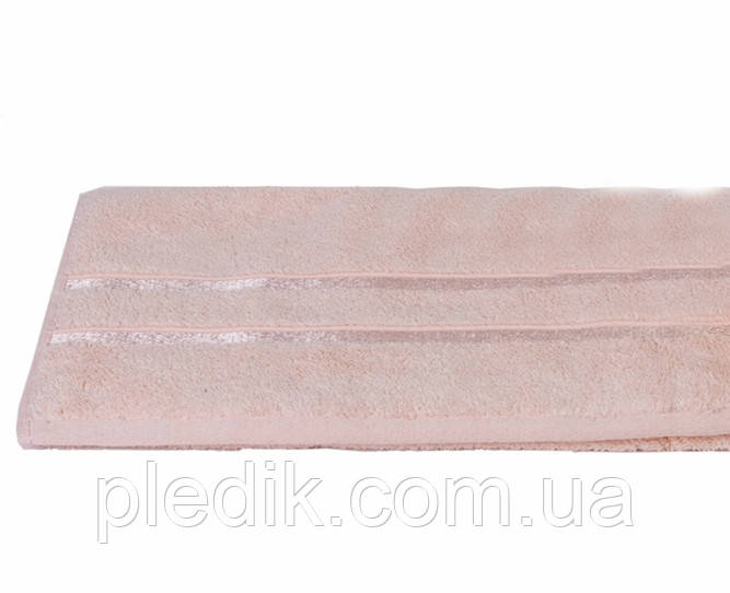 Рушник махровий 70х140 Hobby DOLCE пл. 560 г/м2, персиковий