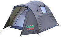 Палатка 2-х местная GreenCamp 3006 (270x150x130 см)