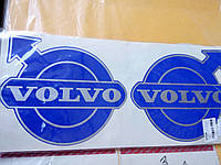 Виниловые наклейки VOLVO  14,5х12,5 см