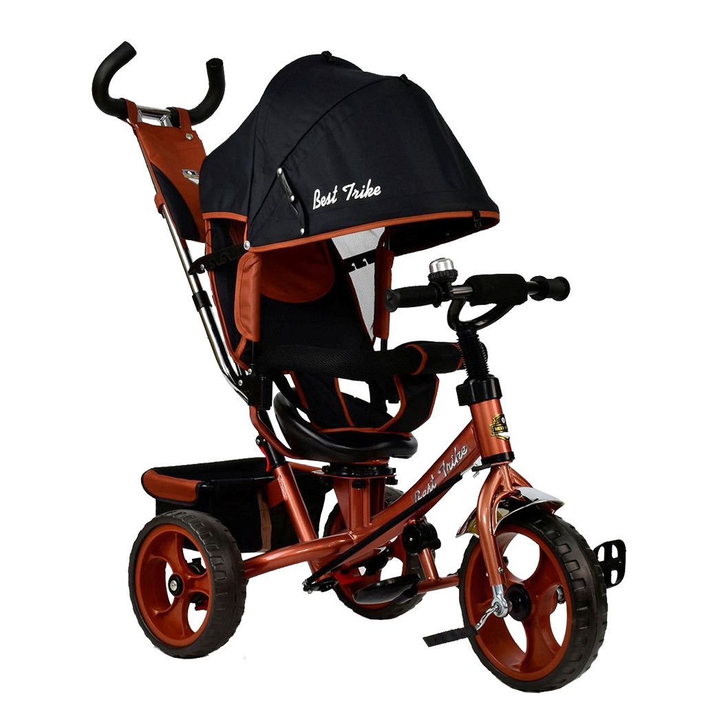 Bелосипед трехколесный Best Trike 5700-4340 Бронзовый 65346