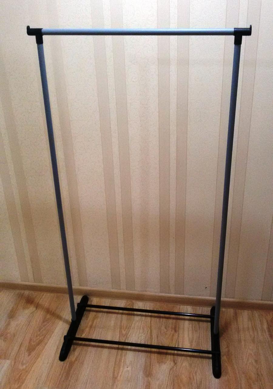 Стойка вешалка напольная для одежды металлическая (без колес)