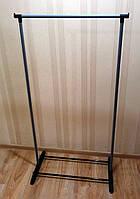 Стойка вешалка напольная для одежды металлическая (без колес), фото 1