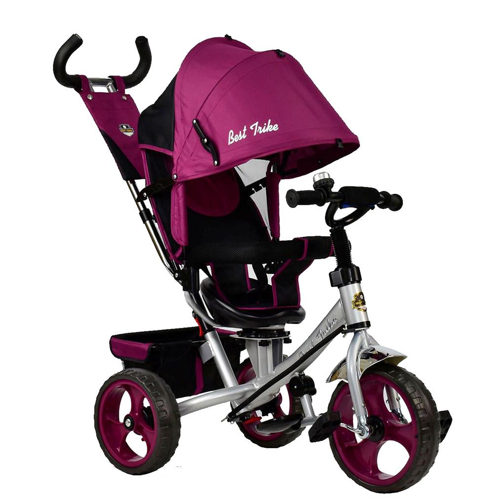Bелосипед трехколесный Best Trike 5700-4450 Фиолетовый 65347