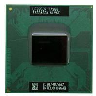 Процессор для ноутбука M Intel Core 2 Duo T7200 2x2,0Ghz 4Mb Cache 667Mhz Bus бу