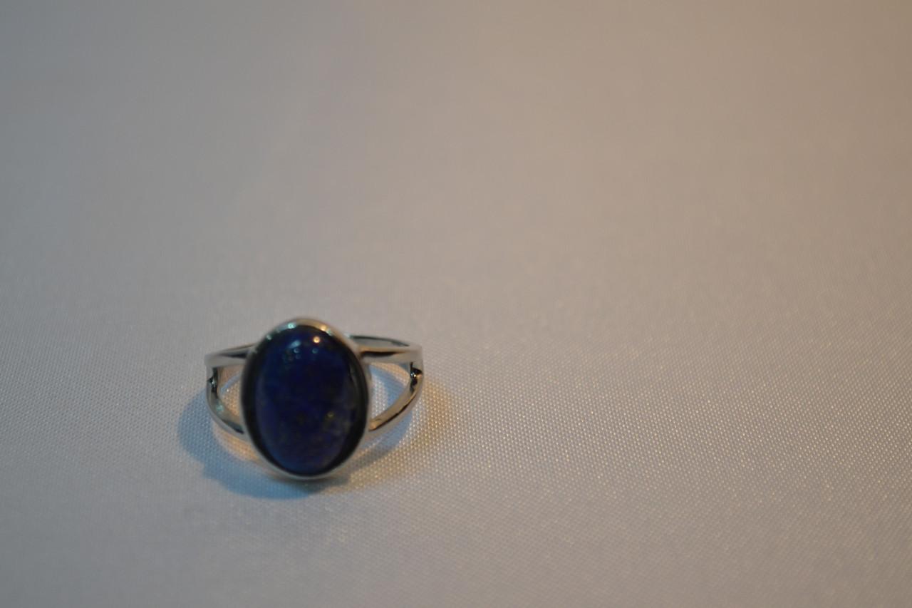 """Кольцо из камня """"Лазурит""""№3"""