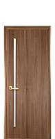 Полотно Глория со стеклом сатин от Новый стиль (венге new, зол.ольха, каштан, орех premium, ясень)