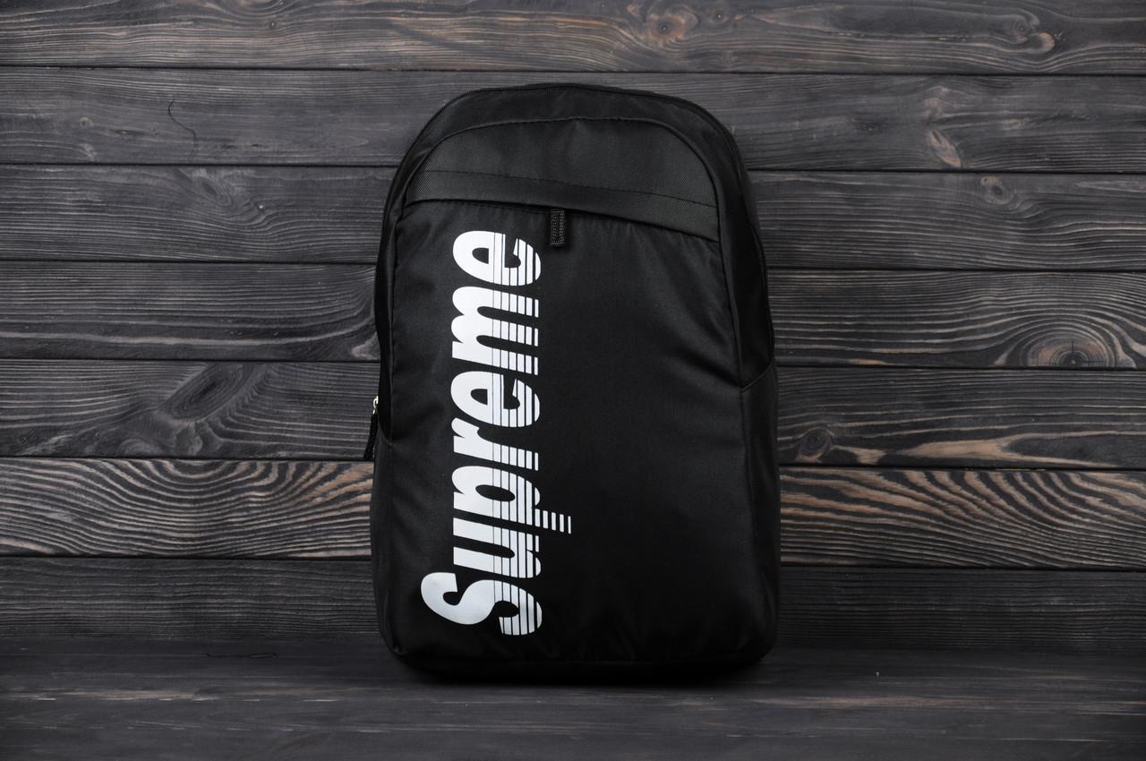 Рюкзак в стиле SUPREME-черный