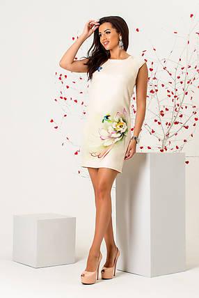 Платье, Бежевый, фото 2