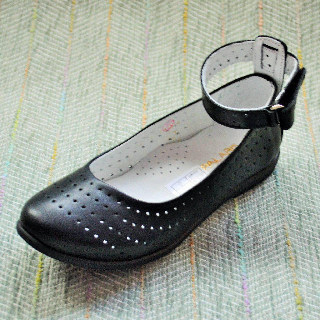 Школьные туфли с перфорацией, Palaris размер 30 31 32 33 34