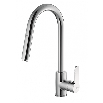 Смеситель для кухни Invena ELIA с вытяжным изливом BZ-89-W01-C