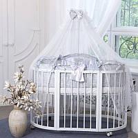Комплект детского постельного белья  All Baby серый, фото 1