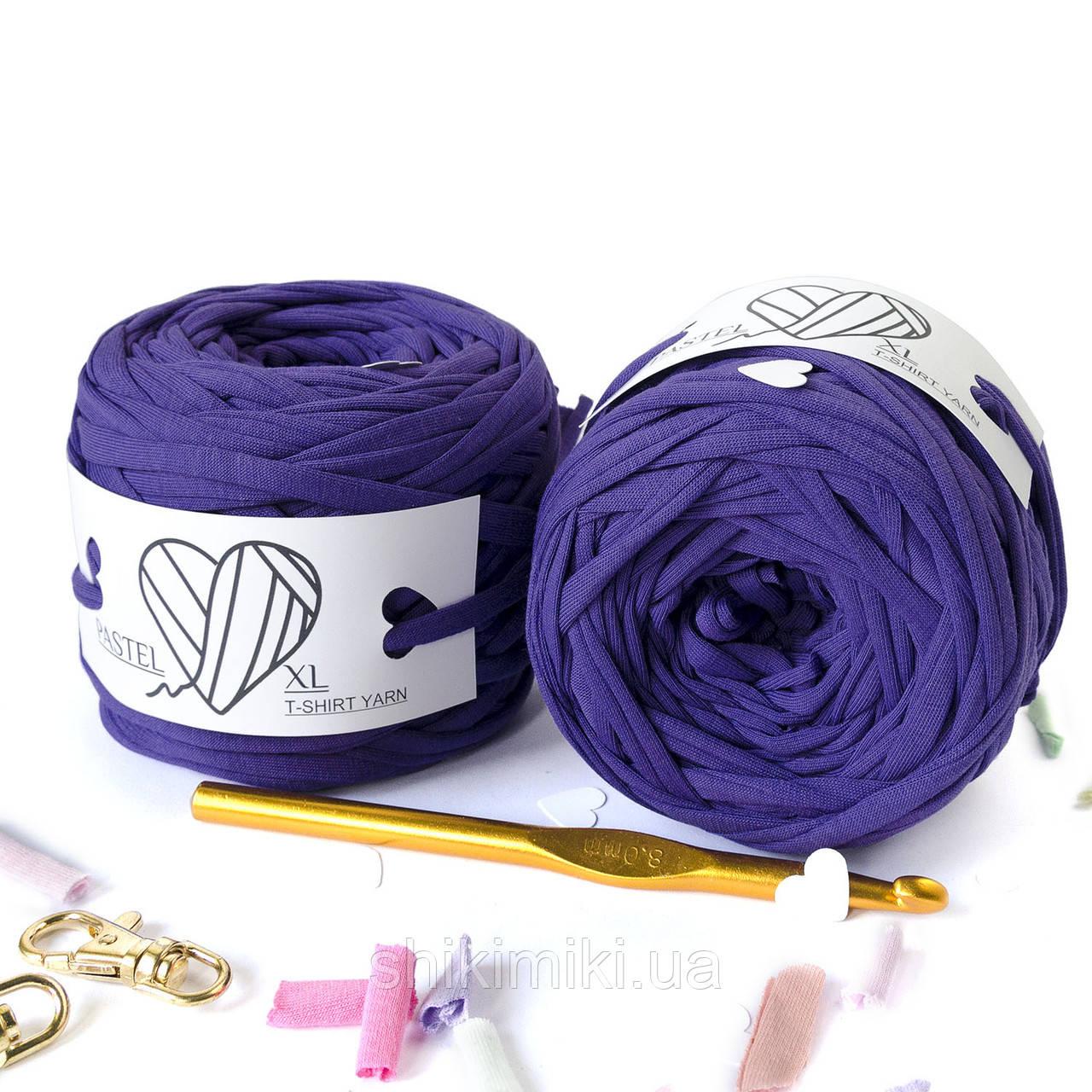 Трикотажная пряжа цвет  Ультрафиолет