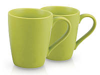 Набор из 2 кружек Fissman 9321, светло-зеленые (SC-9321.250)