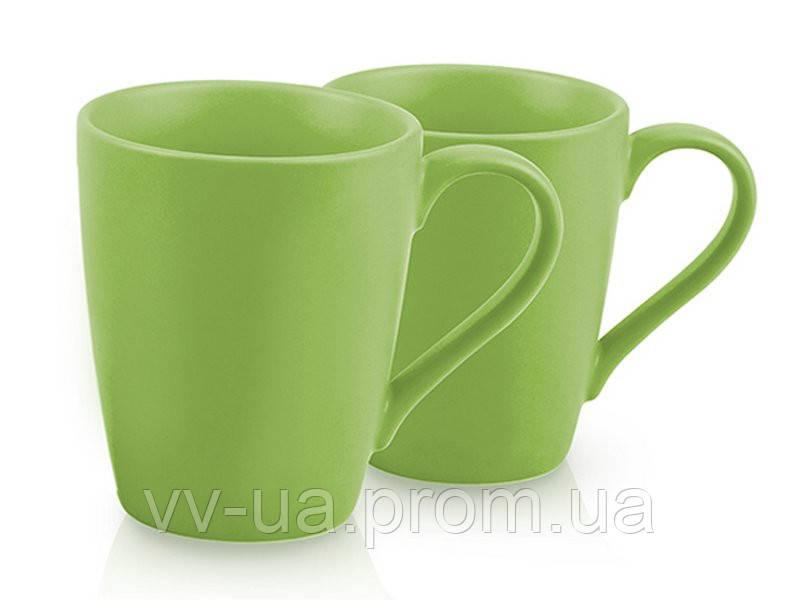 Набор из 2 кружек Fissman 9333, зеленые (SC-9333.250)