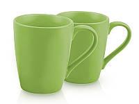 Набор из 2 кружек Fissman 9333, зеленые