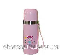 Термос детский Мишка 350мл термокружка , фото 1
