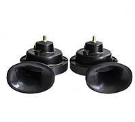 Сигнал звуковой 12V Улитка 2 контакта  100 740 Elegant черный
