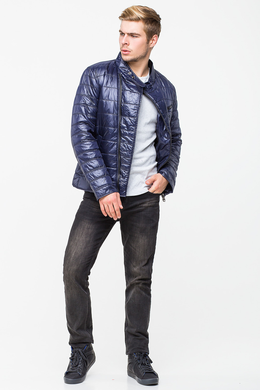 Демисезонная мужская куртка-косуха CW13MC147