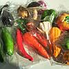 Декоративные овощи крупные микс, фото 2