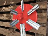 Тарелка с лопастями для разбрасывателя удобрений (лейку) Jar-met, фото 2