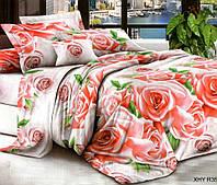 """3D Постільна білизна двоспальне """"Софія"""" Троянди"""