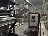 Винтовой компрессор Ozen Kompressor для линии производства и упаковки снеков.