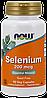 Селен / NOW - Selenium 200mcg (90 caps)