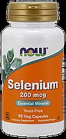 Селен / NOW - Selenium 200mcg (90 caps), фото 1