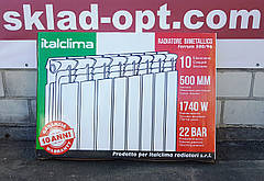 Биметаллический радиатор Italclima, 500/96