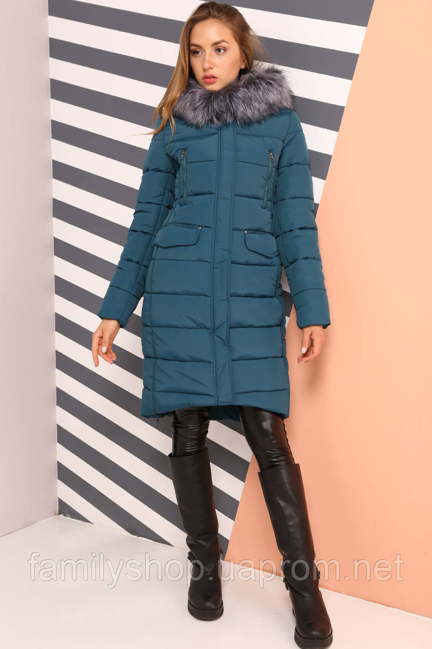 e7d7ed68d57 Теплое зимнее пальто Кэт Нью Вери (Nui Very) - Интернет-магазин
