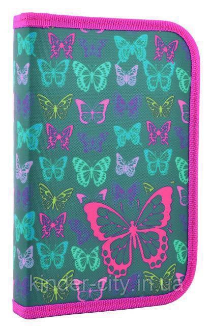 Пенал SMART 531669 1отворот Butterfly