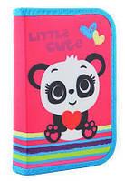 Пенал SMART 531689 1отворот Panda