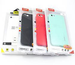 Soft-touch силиконовый чехол SMTT для iPhone 7+/8+